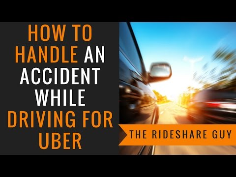 How To Handle An Accident While Driving For Uber