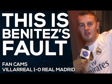 Villarreal 1-0 Real Madrid | Always VIVA RONALDO | FAN CAMS