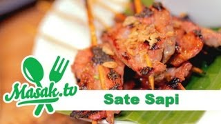 Sate Sapi with Marcello Tahitoe