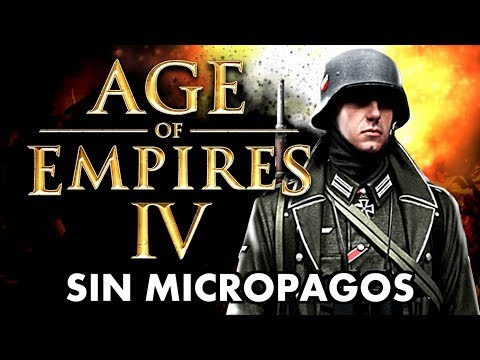 AGE of EMPIRES IV NO TENDRÁ MICROTRANSACCIONES