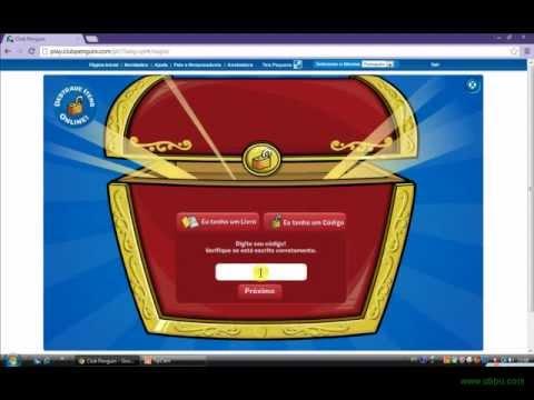 Club Penguin - Destravando Itens - Código Da Jaqueta Vermelha E Da Jaqueta Verd