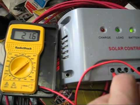 Harbor Freight Solar Panels: Wire Gauge