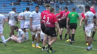 Rugby Espoirs RCT Toulon vs Racing Métro Réumé Match Championnat de France Live TV Sports 2016