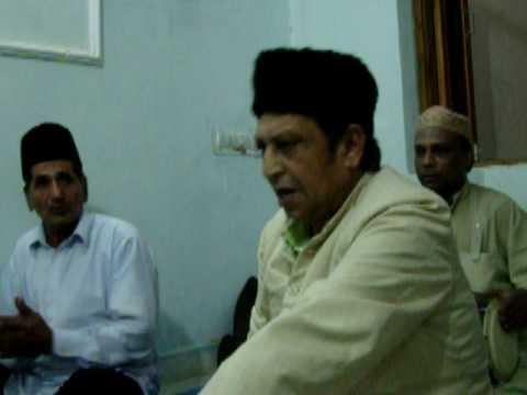 Best Qawwali - Aaj Rang Hai - Shahid Warsi Live video