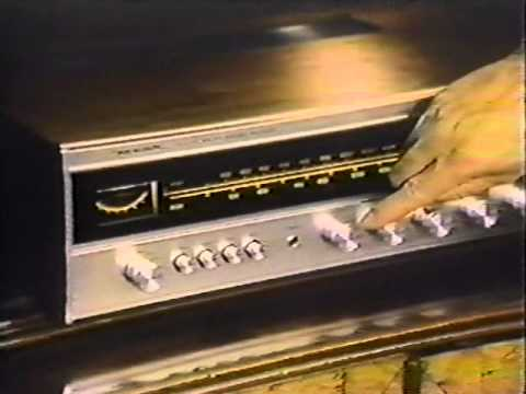 Radio Shack Realistic 77 TV commercial 1977