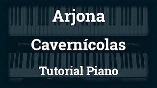 Arjona - Cavernícolas - Tutorial - Piano