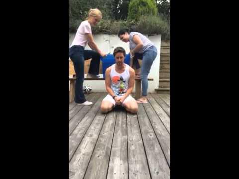 JAMES McAVOY - Ice Bucket Challenge