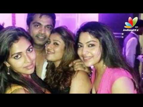 Simbu And Nayanthara Partying Hard Together | Trisha Birthday Party | Hot Tamil Cinema News video