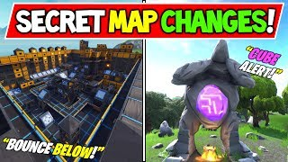 "*NEW* FORTNITE SECRET MAP CHANGES! - V7.13 ""BOUNCE BELOW"" (+V7.20 Release Date?!) - Season 7 Story!"