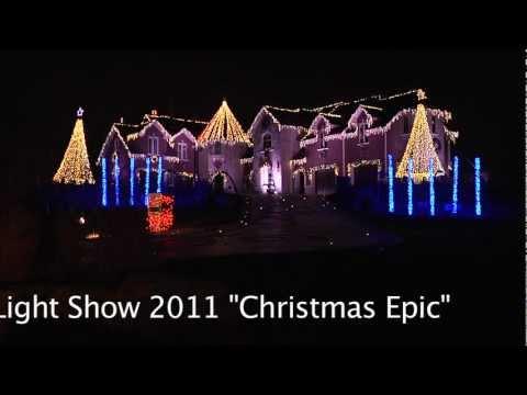 "Larsen's Christmas Light Show 2011 ""Christmas Epic"""