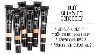 İlk İzlenim | Make Up For Ever Ultra HD Kapatıcı / Ultra HD Concealer