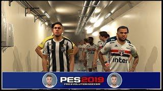 São Paulo x Ceará - Campeonato Brasileiro 18/08/2019 - PES 2019