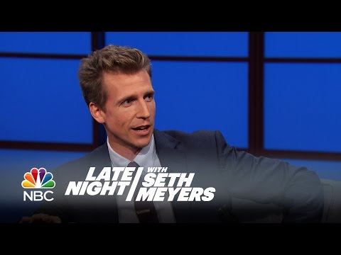 Josh Meyers Interview - Late Night With Seth Meyers