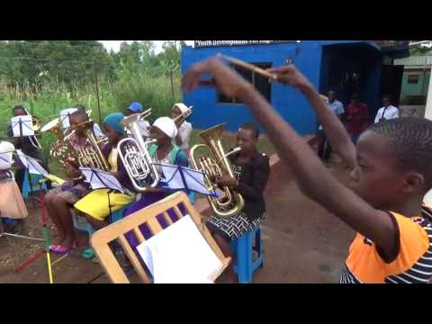 Mbale Schools all girls band