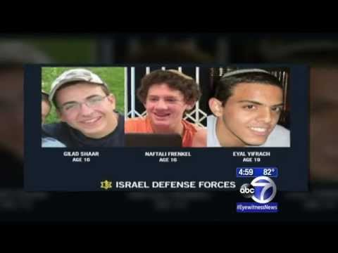 Bodies of 3 abducted Israeli teens found in West Bank