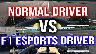 NORMAL DRIVER VS F1 ESPORTS QUALIFIER