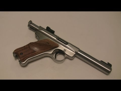 Ruger Mark II 22 LR Pistol Disassembly Assembly