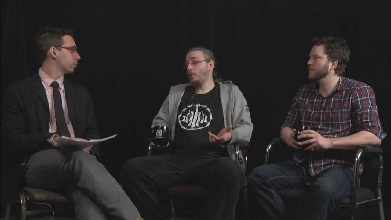 CUTV News Interview en studio avec Marc-Andre Cyr et Alexandre Popovic