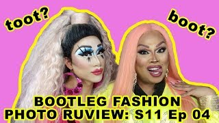 JIGGLY CALIENTE joins BOOTLEG FASHION PHOTO RUVIEW: Season 11 Episode 4!