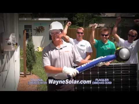 Solar Energy Commercial by Wayne's Solar of Central Florida