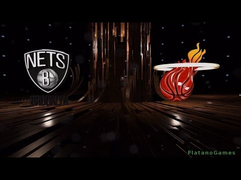 NBA Playoffs - Brooklyn Nets vs Miami Heat - Game 5 - 1st Qrt - Live 14 - HD