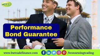 Performance Guarantee Bond - PG-PB | Bronze Wing Trading L.L.C.