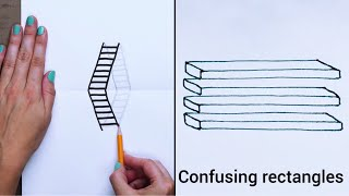 20 Easy Drawing Tricks You'll Love I DIY and Art Hacks by Blossom
