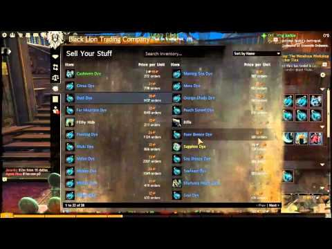 Guild Wars 2 - Unidentified Dye Gambling