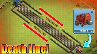 200 LEVEL 10 WALLS VS WALL WRECKER | INSANE DEATH LINE TROLL BASE | WHO WILL WIN?