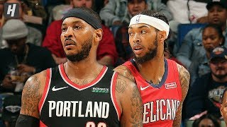 Portland Trail Blazers vs New Orleans Pelicans - Full Highlights | November 19 | 2019-20 NBA Season