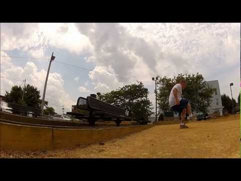 Footbag Stunts On Bocce Ball Courts video