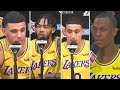 "Lakers React To Having LEBRON As Their Teammate, ""He"