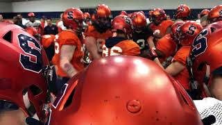 Syracuse football film spring review with Julian Whigham: Time to hit!