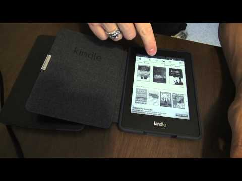 Kindle Paperwhite 1st Look! Side by side with Kindle Touch and cases!