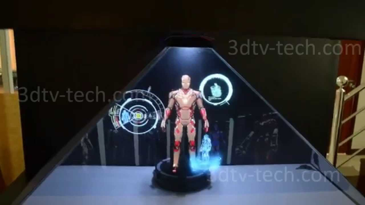 Want Your Own Iron Man Hologram