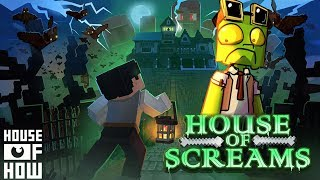 I might be haunted - House of Screams - minecraft horror map