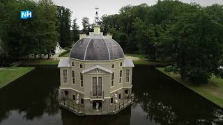 IN VOGELVLUCHT: Huis Trompenburgh, een prachtige buitenplaats bij 's Graveland