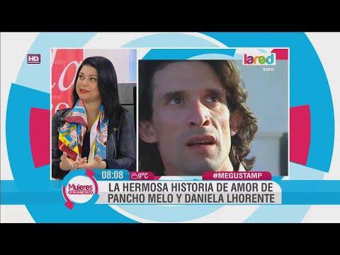 La historia de amor entre Pancho Melo y Daniela Lhorente