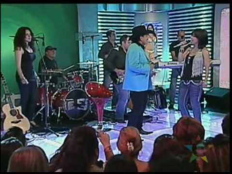 """Luz Rios y Joan Sebastian en el programa de """"Estudio 2"""""""