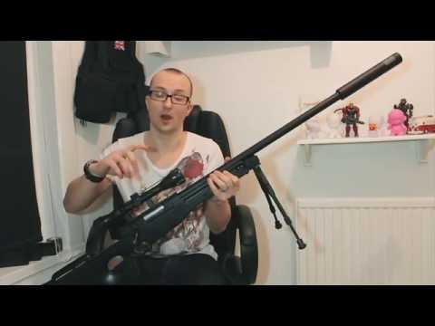 500+ FPS L96 Airsoft Sniper Rifle - Gun Basics