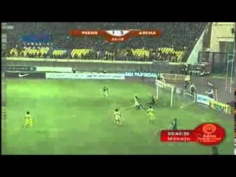 Persib Bandung Vs Arema Cronus 3-2 ALL GOALS ISL 13 April 2014