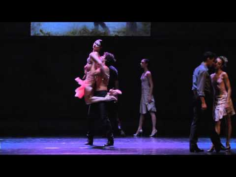 "Kledi Kadiu in ""Contemporary Tango"" con il Balletto di Roma 2013"