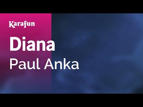 Karaoke Diana - Paul Anka *