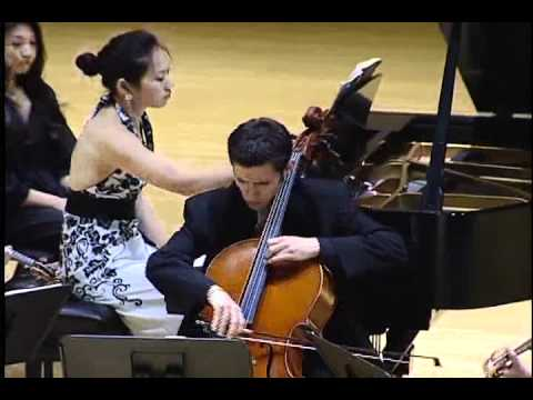 Brahms Piano Quartet No.2 in A Major, Op. 26, Poco adagio, Ravinia Festival