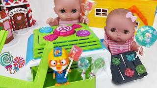 캔디 롤리팝 메이커 다양한 맛 사탕 만들기 아기인형 뽀로로 장난감 Baby doll Sweet Treats Lane Lollipop Candy Maker Machine toys