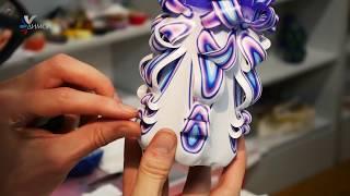 How its made! Резная свеча на заказ от свечной мастерской ДИМСИ