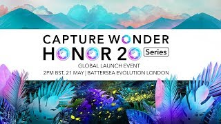 HONOR 20 Series Global Launch Event