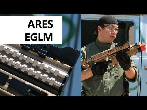 Airsoft GI - ARES EGLM - Enhanced Grenade Launcher Module for 40mm Airsoft Grenades