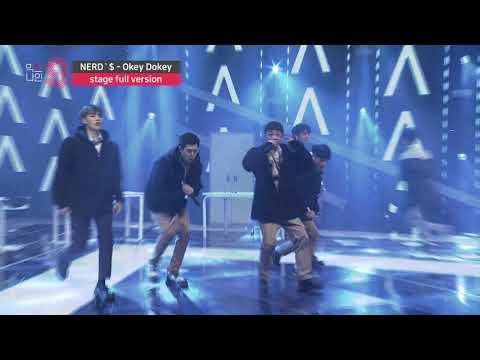 [MIXNINE(믹스나인)] Nerd'$ _ Okey Dokey(MINO,ZICO(송민호,지코)) (Stage Full Ver.)