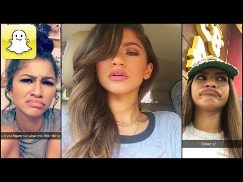 Zendaya - Snapchat Video Compilation (Best 2016★)